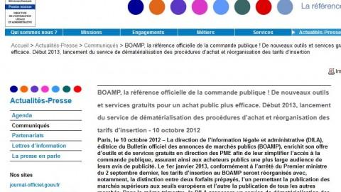 BOAMP, de nouveaux outils et services gratuits pour un achat public plus efficace