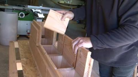 Catharhome lance une brique en bois révolutionnaire
