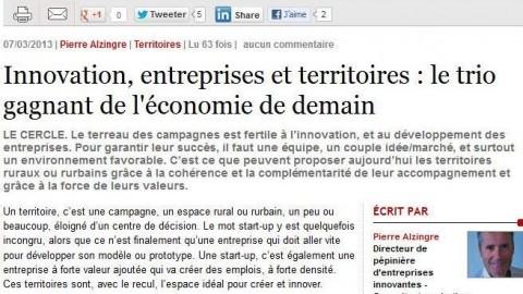 Innovation, entreprises et territoires : le trio gagnant de l'économie de demain