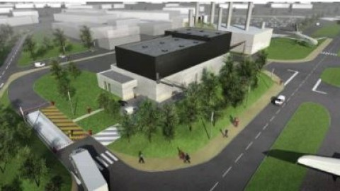 Présentation du projet Bois-Energie d'Airbus à Toulouse
