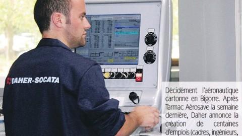 Daher Socata : Des centaines d'emplois créés