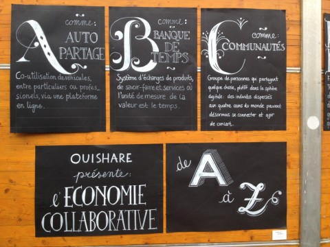 Regards croisés sur le futur de l'économie collaborative