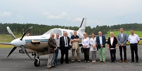 Rafline Air souhaite proposer un service au départ de l'aérodrome de Mende-Brenoux