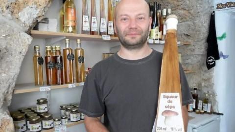Saveur Gour'Mende met du cèpe en bouteille !
