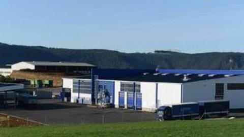 Chimirec inaugure une nouvelle plate-forme en Lozère