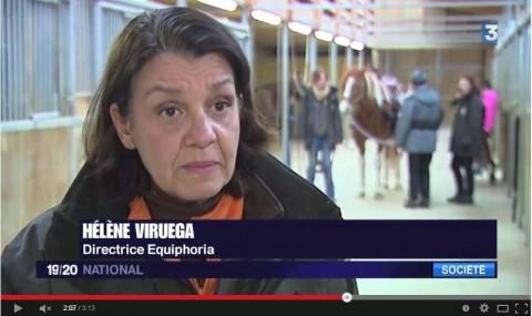 Equiphoria dans le 19/20 de France 3 le 21/01/2015