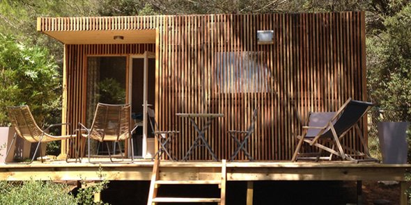 La maison modulaire bois un mod le qui tient ses - Maison modulaire en bois ...
