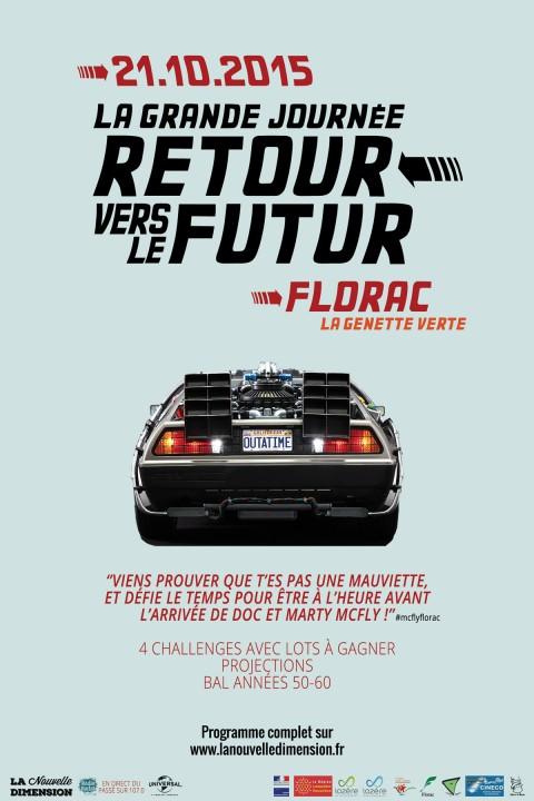 Retour vers le futur arrive à Florac.