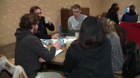 """""""Expédition Créative"""" : reportage de France 3 à La Borie le 23 mars 2017"""