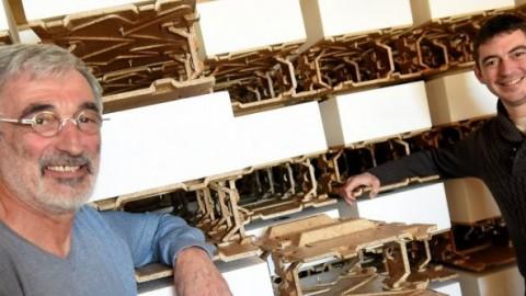 Mende : un bloc léger en bois moulé pour construire sa maison