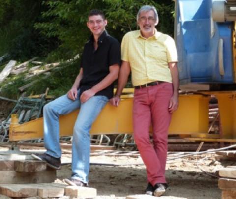 Fabriquée en Lozère, cette brique légère et isolante permet de construire sa maison passive