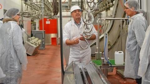 Journée découverte de la filière viande à Antrenas